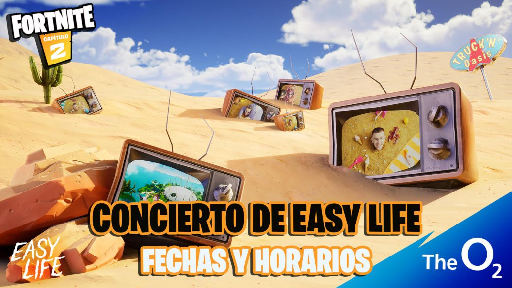 Easy Life concert in Fortnite: dates, times, how to watch live, and prizes for attending