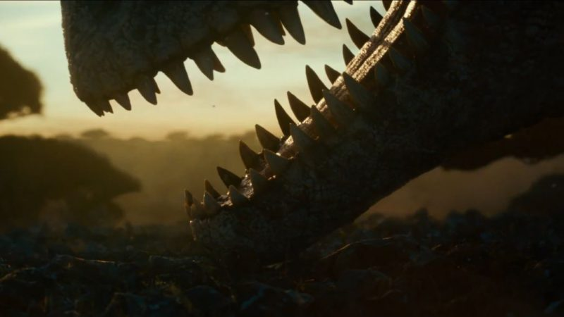 Jurassic World: Dominion shows its first images in a short teaser