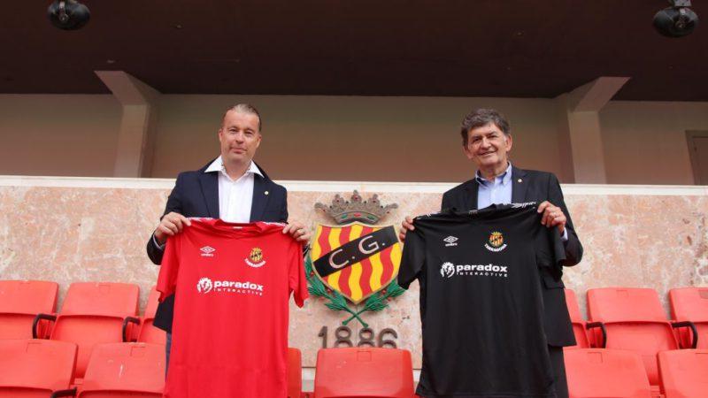 The Gimnàstic de Tarragona signs the CEO of Paradox Interactive;  New t-shirt