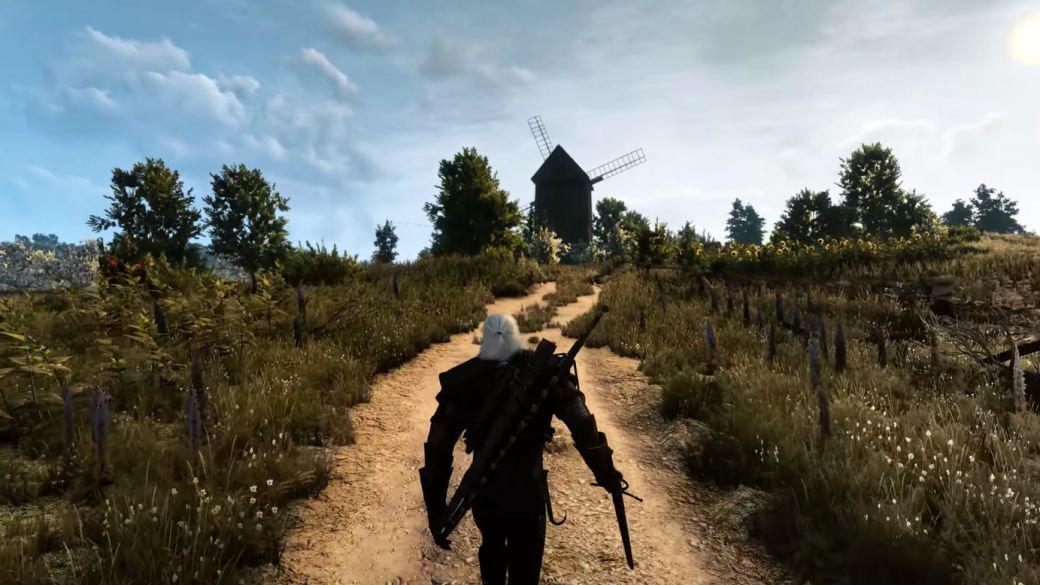 This is what The Witcher 3 looks like in 8K resolution with an RTX 3090;  the most realistic Geralt