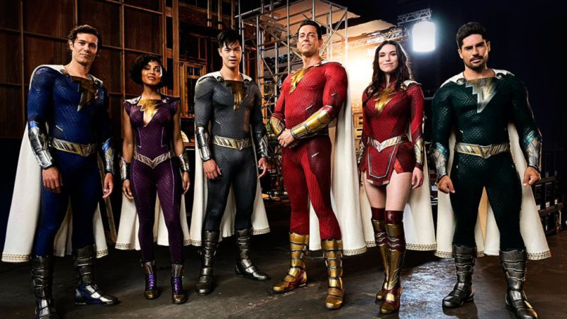 This is what the Shazam family outfits look like in Shazam 2: leaked photos of Helen Mirren as Hespera