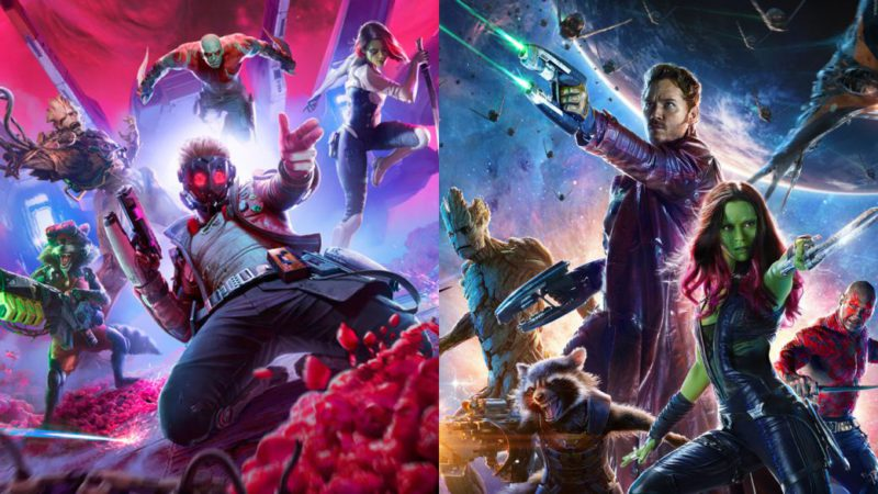 Marvel's Guardians of the Galaxy will also have costumes from the Marvel Studios movies