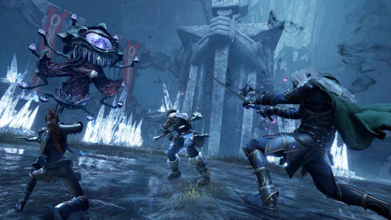 Dungeons & Dragons: Dark Alliance explores fantasy in its launch trailer