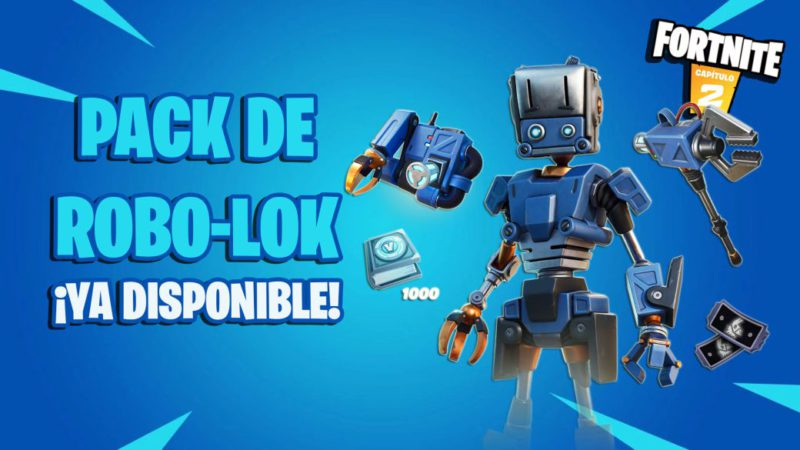 Fortnite: Robo-Lok Pack Now Available;  price and contents