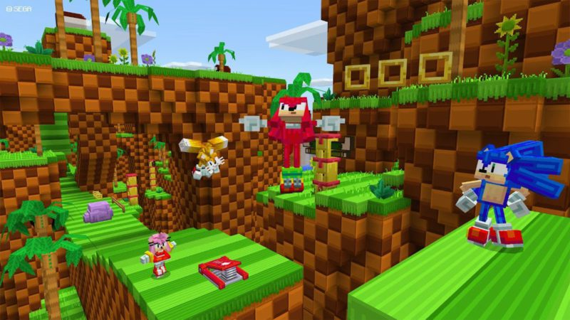 Sonic the Hedgehog Announces Collaboration with Minecraft for the Franchise's 30th Anniversary