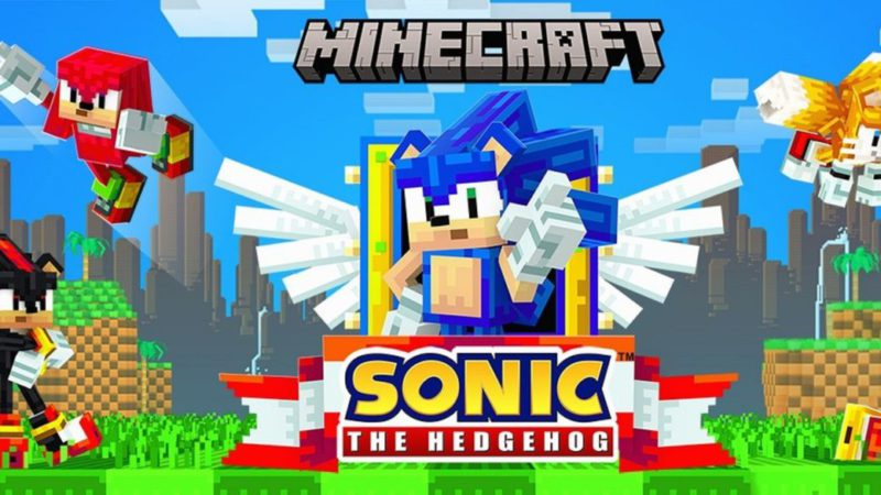 Sonic comes to Minecraft as DLC - get it for free