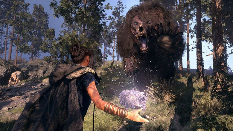 Square Enix on Forspoken's graphic ambition as an open-world game