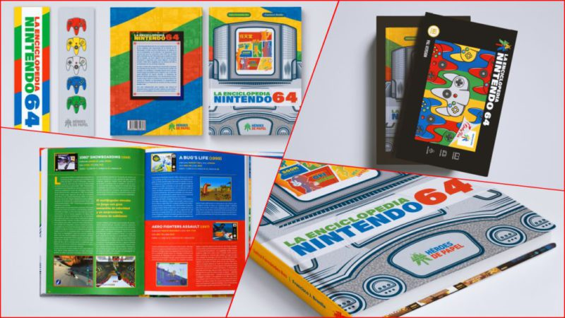 Announced 'The Nintendo 64 Encyclopedia', the new book of Paper Heroes