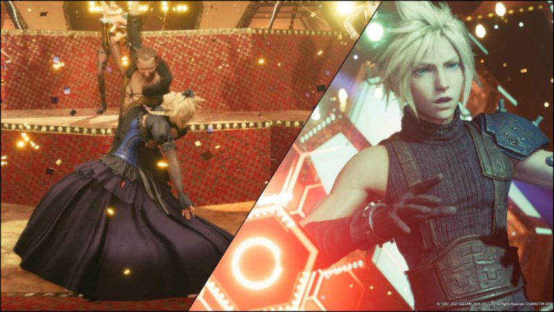 Final Fantasy VII Remake modified the dance scene for fear of age rating