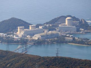 The old Japanese nuclear power plant Mihama goes back online