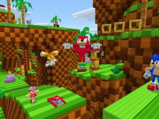 Sonic the Hedgehog is coming to Minecraft