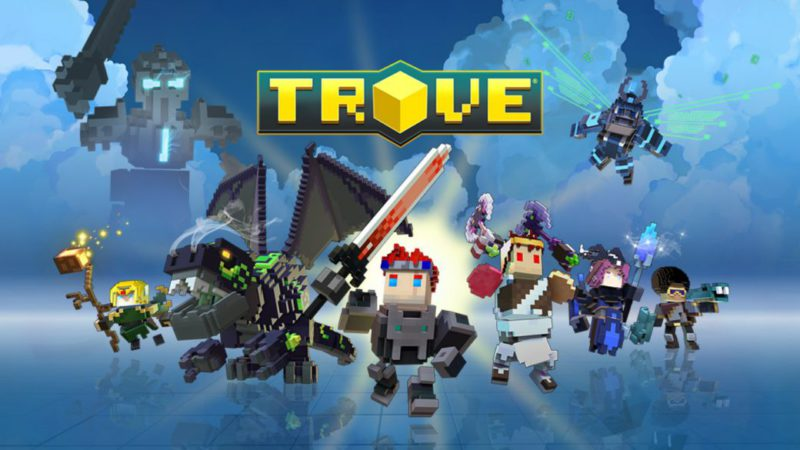 New free game on Nintendo Switch: Trove, a Minecraft-style action RPG