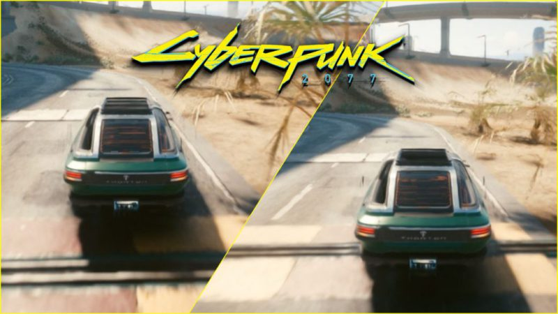 Cyberpunk 2077 improves on PC thanks to a mod with DLSS: this is how it changes graphically
