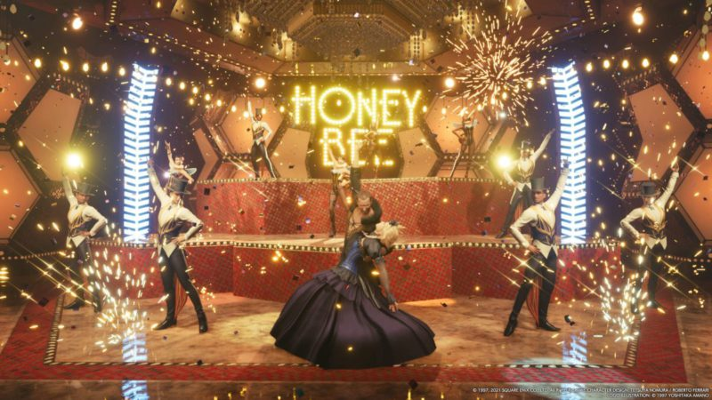 Final Fantasy 7 Remake had a racy dance scene that was removed by the rating system