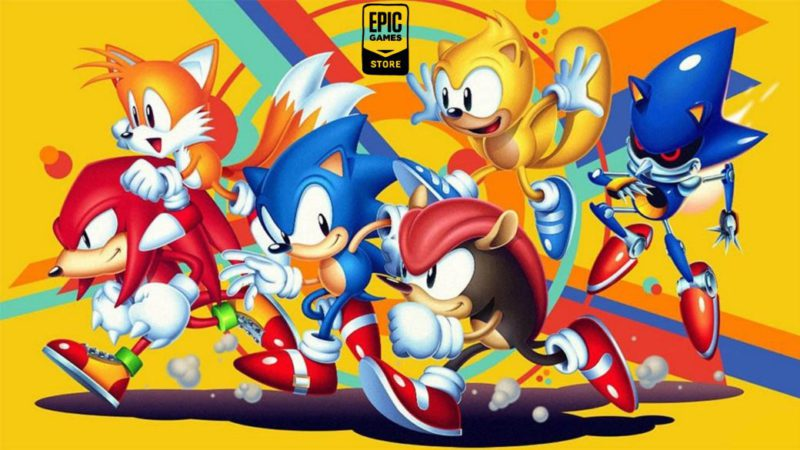 Sonic Mania, among the free games on the Epic Games Store;  how to download it on pc