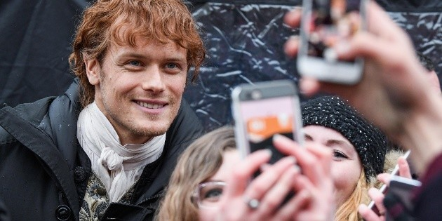 Sam Heughan aroused the annoyance of his fans: For what reason?