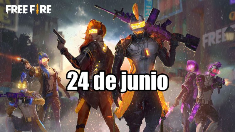 Today's Free Fire Codes June 24, 2021;  all free rewards