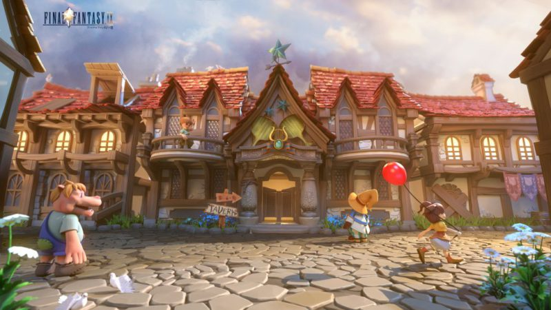Final Fantasy IX, reimagined by fans with current graphics