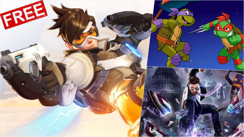 Free PS5, PS4, Switch, PC, Steam and Xbox games for this weekend: Overwatch, Saints Row IV and more