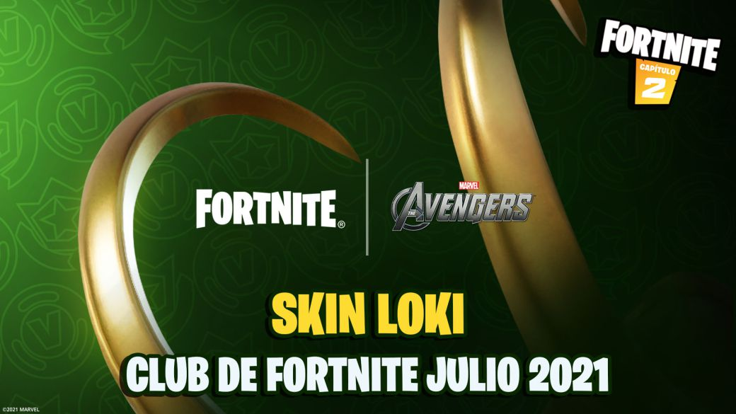 Loki will be the skin of the Fortnite Club for July 2021;  all we know