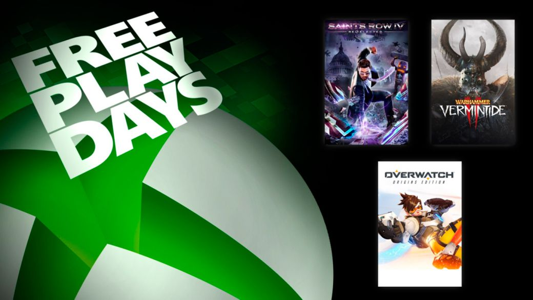 Overwatch and Saints Row IV: Re-Elected among the games to play for free with Xbox Live Gold
