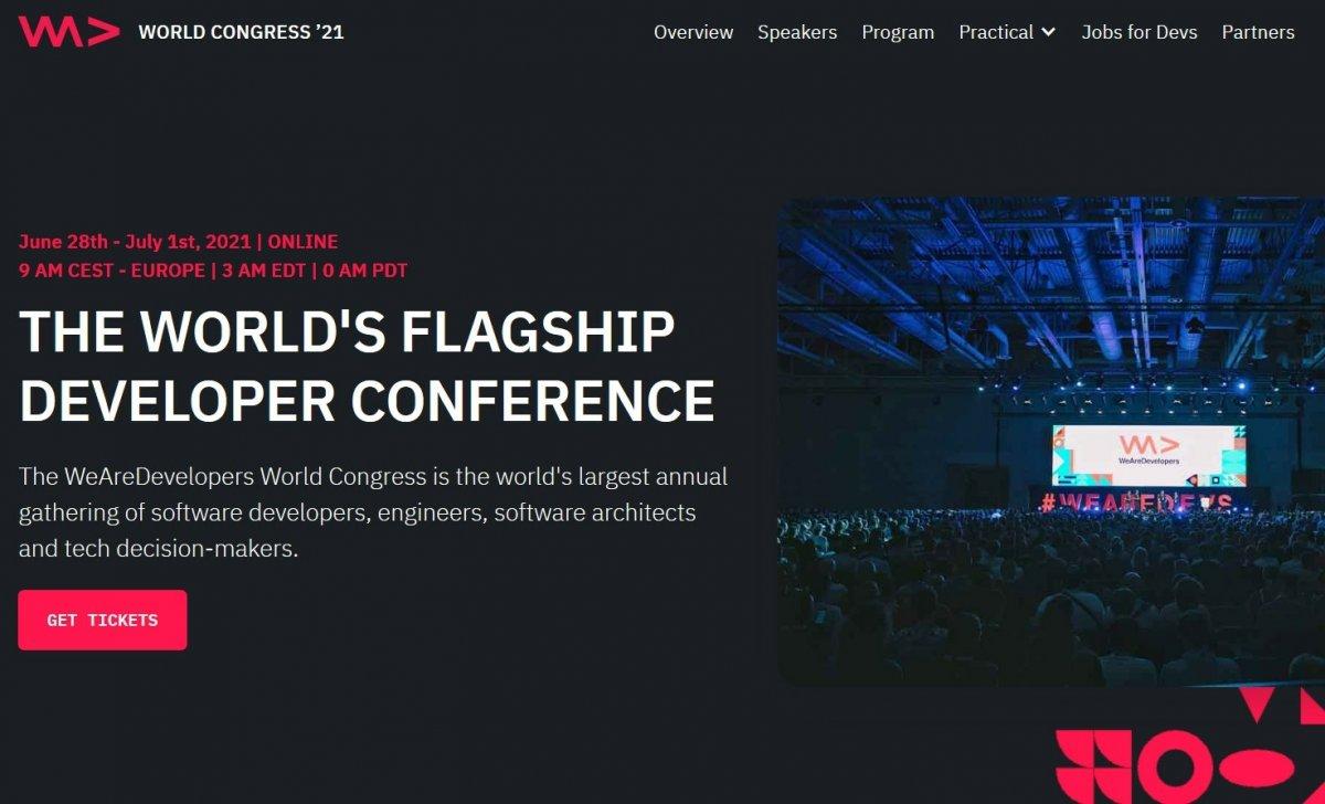Ab Montag online: WeAreDevelopers Live Week mit Tim Berners-Lee