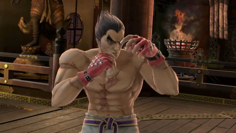 Super Smash Bros Ultimate dates extensive Kazuya performance