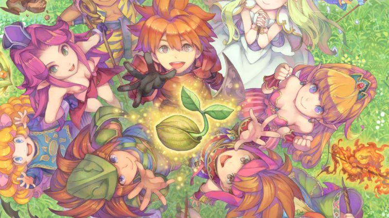 New game in the Mana series in development for consoles;  first details
