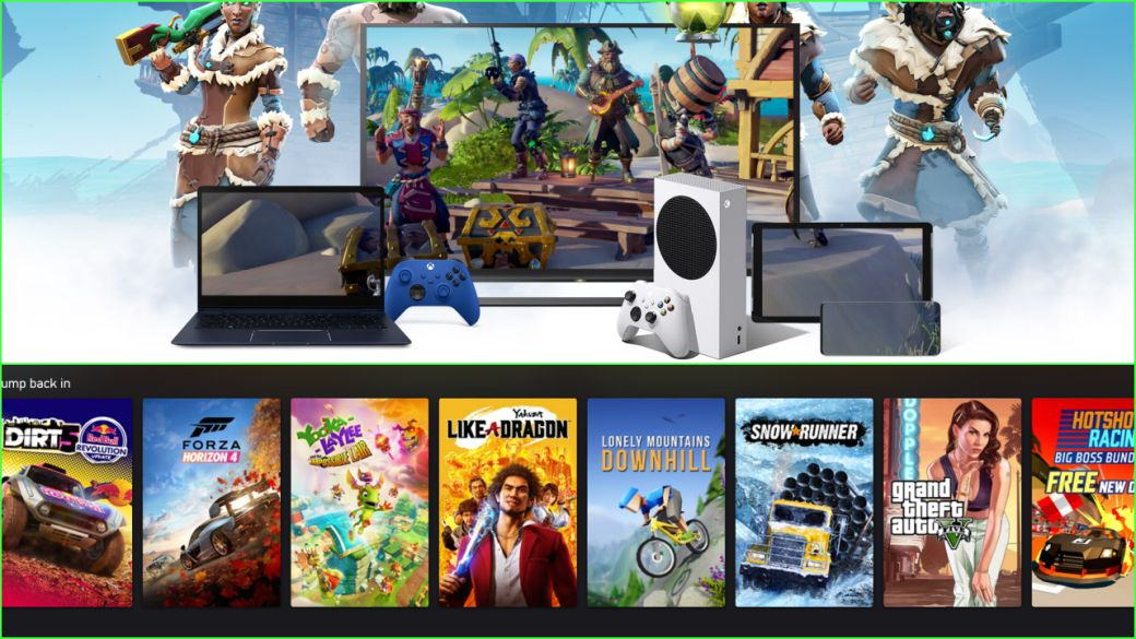 Xbox Cloud Gaming, now available on PC, iPhone and iPad;  powered by Xbox Series X
