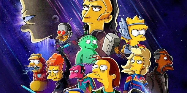 Marvel confirmed the crossover with The Simpsons: when it opens on Disney +
