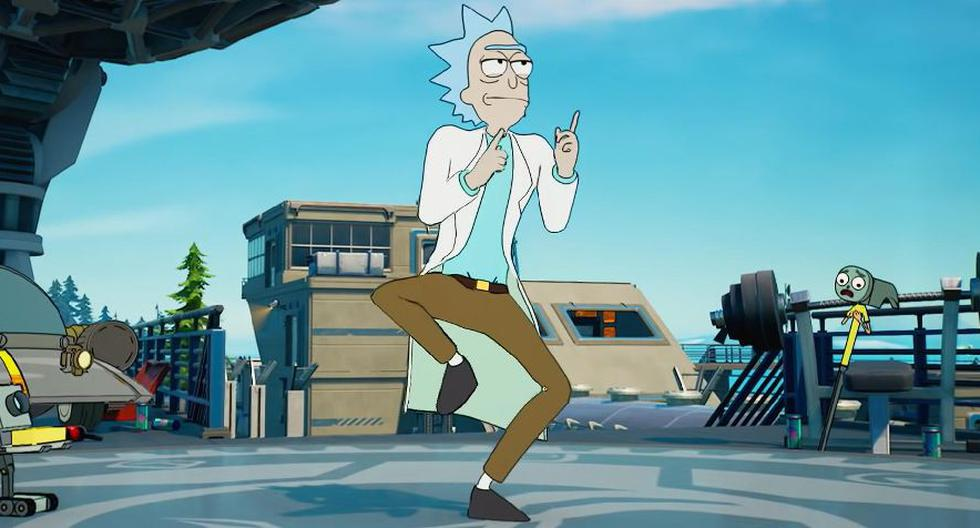 Fornite Season 7 guide to get the skin of Rick Sanchez, Rick and Morty character