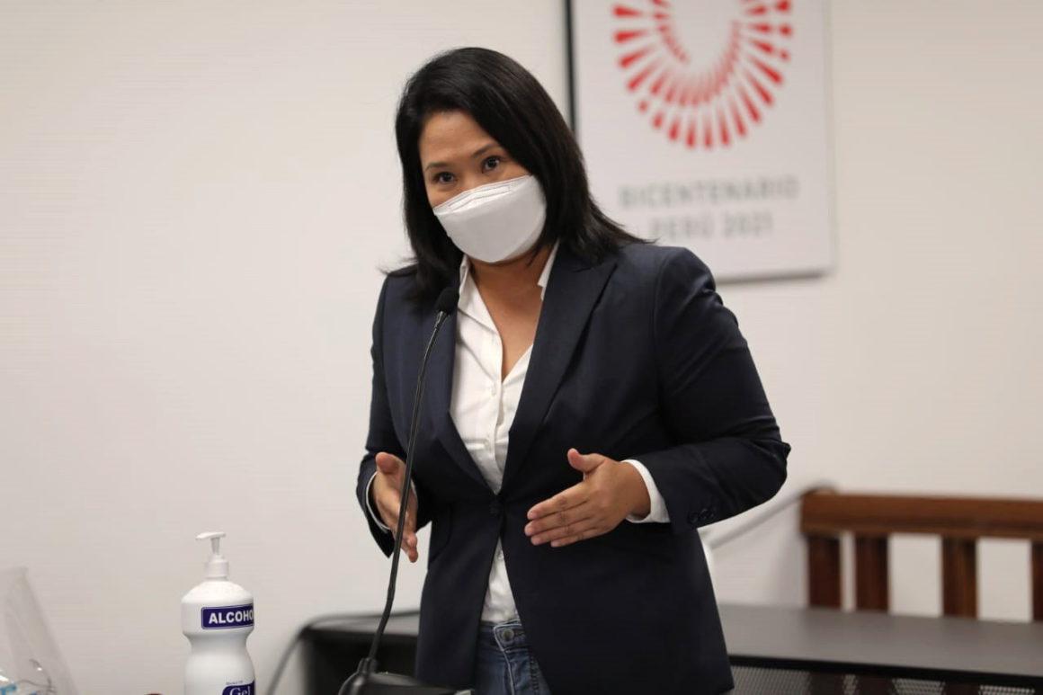 A judge allows Keiko Fujimori to remain on probation