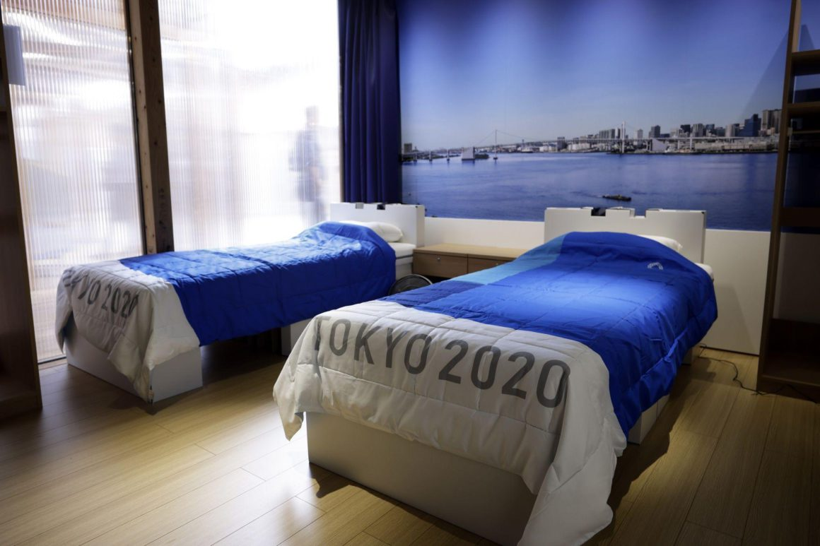 A look inside the Tokyo Olympic Village: Photo