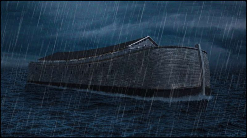 A replica of Noah's Ark was detained in England because it does not have maritime circulation permits