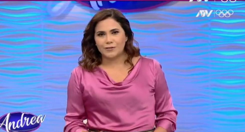 Andrea Llosa reveals that she is separating from her husband after 15 years of marriage    VIDEO