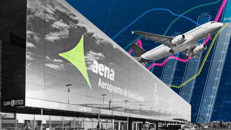 Aena takes air boosted by flights to the islands: the Canary Islands and the Balearic Islands shoot their passengers by 2,000%