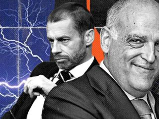 All the threats from Ceferin and Tebas to the Super League and that they went nowhere