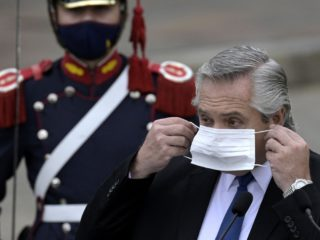 Argentine President Alberto Fernández irritates an entire continent with a single sentence