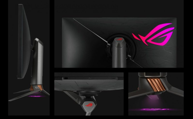 Asus ROG Swift PG32UQX: Mini LED monitor with camera thread for gaming
