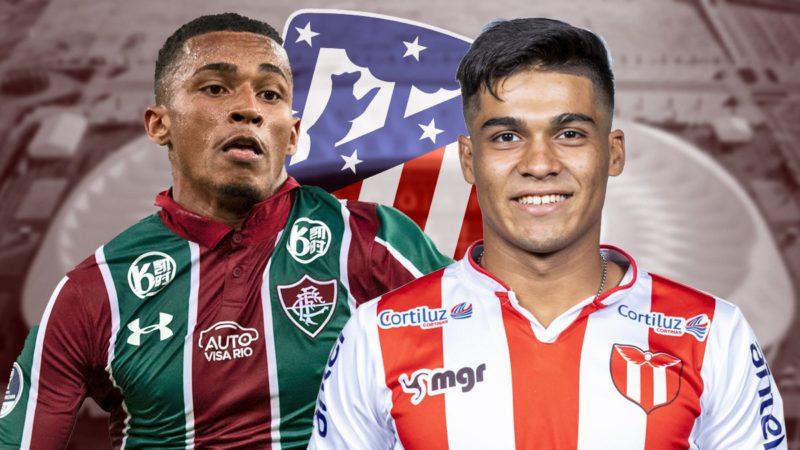 Atlético sign Marcos Paulo and Matías Arezo