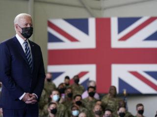 Biden blames Johnson for crisis in Northern Ireland