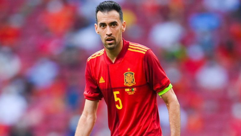 Busquets is negative and may be against Poland