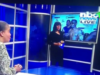 """""""Jessica, we are live"""": The 'blooper' that made two television presenters famous on the Internet in Namibia"""