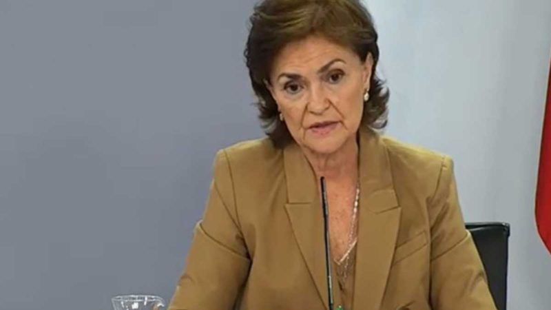"""Calvo to the Casa del Rey: """"As long as we govern, Don Juan Carlos will not return to Spain"""""""