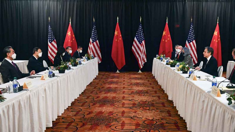 China and the United States star in a crossroads of accusations at their first high-level summit