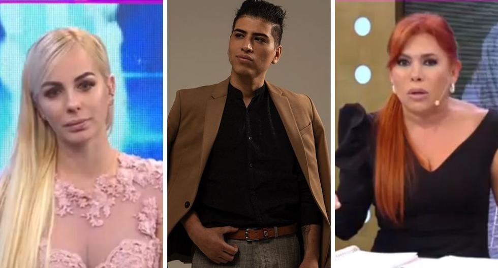 """Magaly Tv: La Firme"": Dalia Durán and John Kelvin fight live    VIDEO"