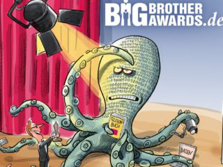 Data octopus award: Big Brother Awards in pandemic times
