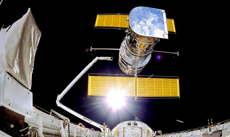 Decrepit storage: Hubble space telescope still out of order