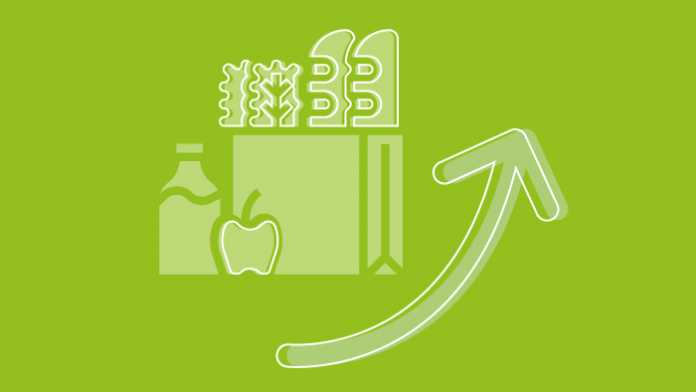 Statistics of the week: groceries in ten minutes