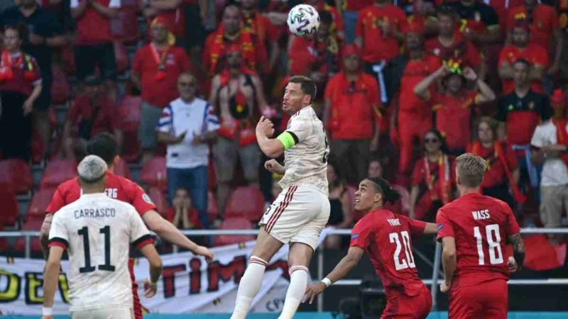 Denmark - Belgium, live online: Euro 2021